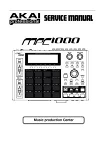 To view the document Akai MPC1000 Service Manual