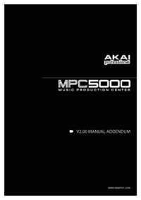 To view the document Akai MPC5000 User Manual